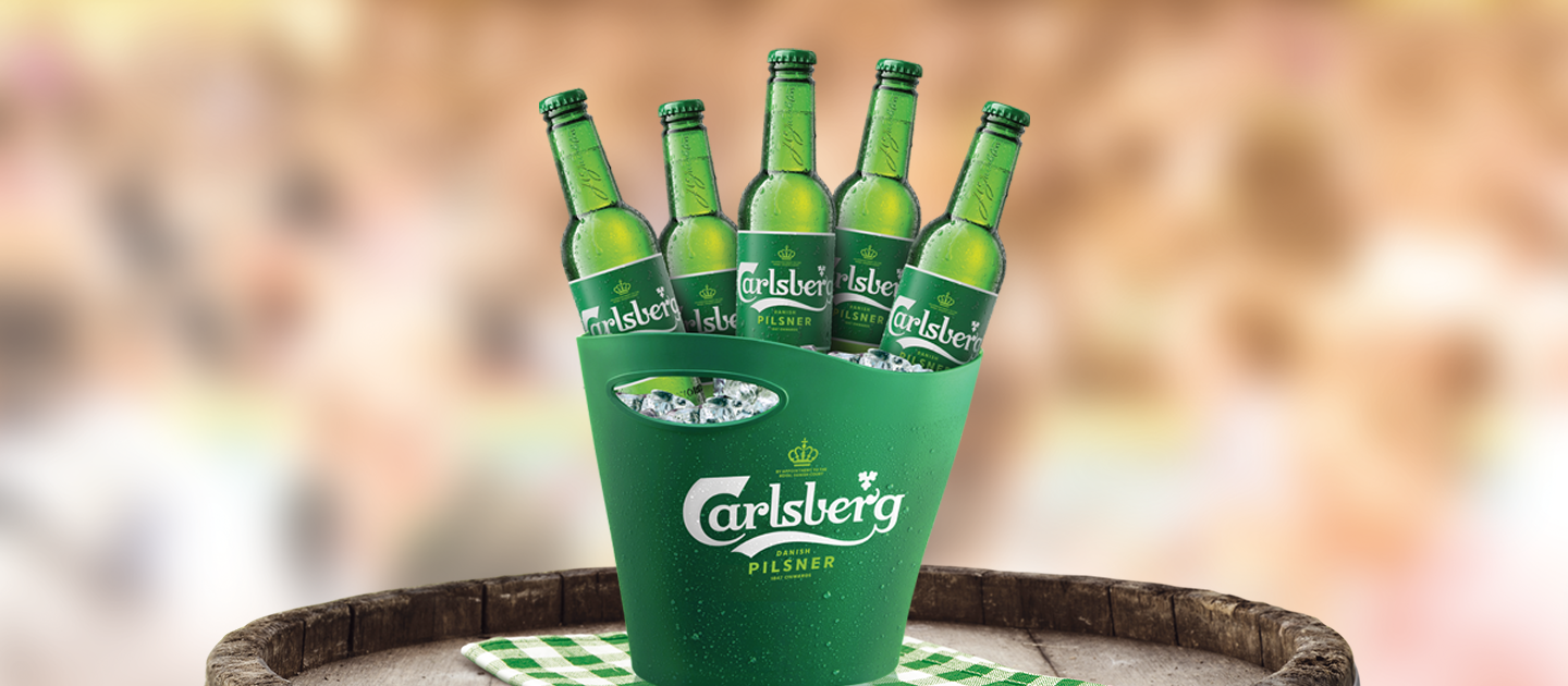 Enjoy Carlsberg at Pubs & Bars